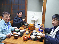 株式会社九州ジオテック御一行様ありがとうございます。1週間宿泊して頂きます。