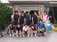 片渕中学女子バレー部
