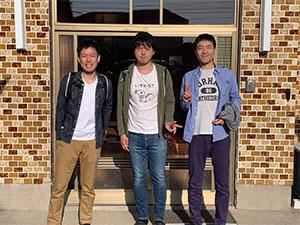 東京からお越しの中島様3名様、3泊して頂きました。ありがとうございました。