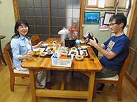 京都よりお越しの高橋様ご宿泊ありがとうございます。