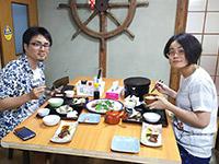 西川様 ありがとうございます。お料理の料金アップでご予約頂きました。